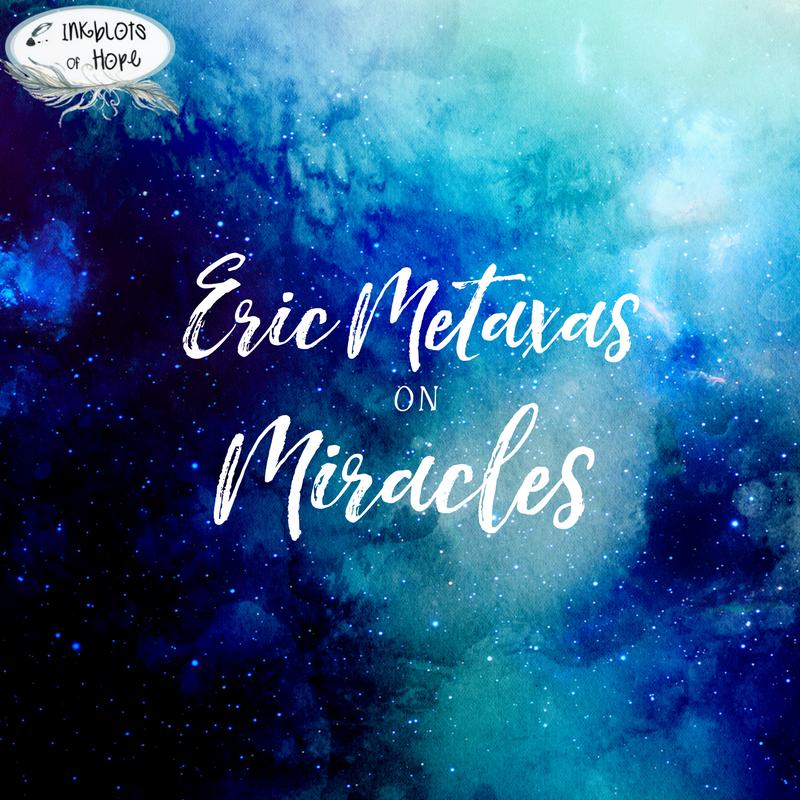 Eric Metaxas book Miracles