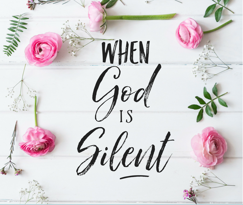 When God Is Silent- Guest Post