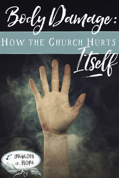Healing from church wounds.